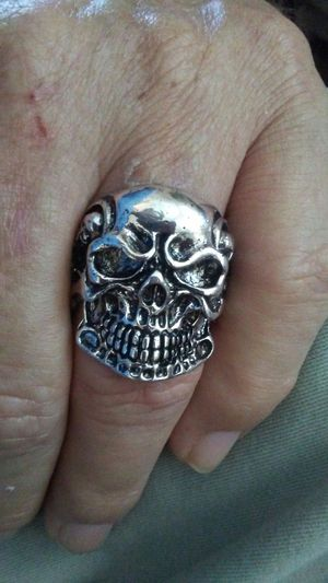 Stainless Steel Skull Ring for Sale in Orlando, FL