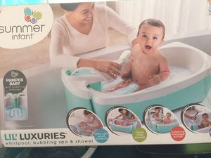 Baby bath, shower, whirlpool, bubbling spa for Sale in Angier, NC