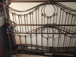 King size Heavy Metal frame for Sale in Alexandria, VA