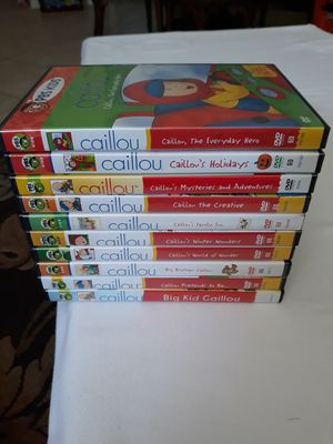 """10 ASSORTED """"CAILLOU"""" DVD MOVIES for Sale in Corona, CA"""