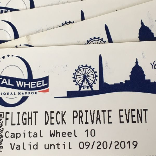 The Capital Wheel Flight Deck Private Event Tickets