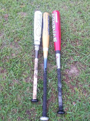 3 baseball bats for Sale in Tallahassee, FL