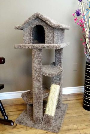 pagoda house Cat trees/ cat stand triple perch/ cat house/ cat condos for Sale in Phoenix, AZ