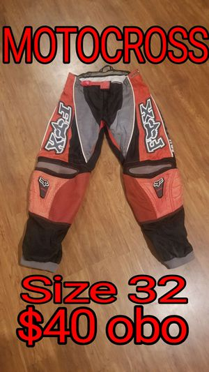 Fox Racing dirt bike Riding Motorcycle Pants. Size 32, Good Condition. for Sale in Bloomington, CA