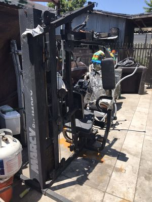 Marcy weight lifting station for Sale in CRYSTAL CITY, CA