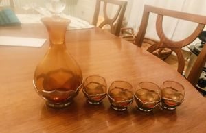 Antique Collectible LOT Decanter sets, Crystal, Depression glass china for Sale in Cleveland, OH