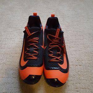 Nike Air Huarache 2K Filth Elite Baseball Cleats Black 819336-080 Mens Size 12.5 for Sale in El Dorado, KS