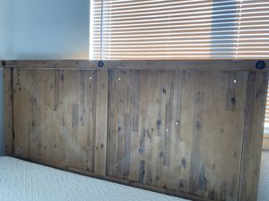 Wood bed frame for Sale in Kent, WA