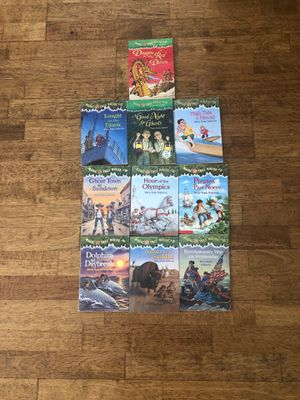 Magic treehouse books - 10 titles for Sale in Costa Mesa, CA