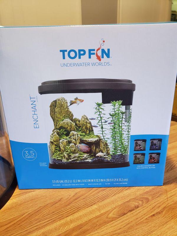 NEW fish tank aquarium +extras!
