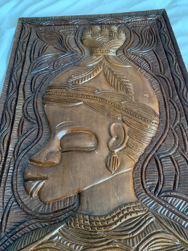 Haitian wood carving