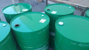 Mint condition food grade no chemical 55 Gallon metal Barrels $15ea for Sale in Rosemead, CA