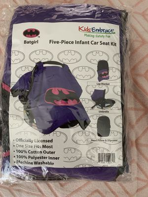 Infant car seat kit!!! BATGIRL!! for Sale in Las Vegas, NV