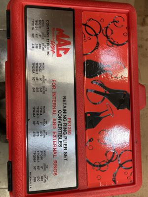MAC tools snap ring plier set for Sale in Tomball, TX