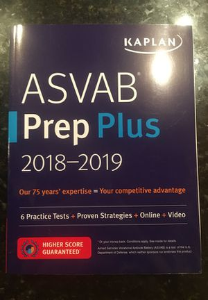 brand new ASVAB prep - never used! for Sale in Lynchburg, VA