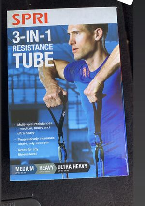 Resistance tube bands for Sale in Corona, CA