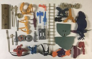 Vintage Motu Heman Masters of the Universe Accessories Lot for Sale in River Grove, IL