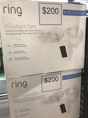 Ring Floodlight cam for Sale in Rialto, CA