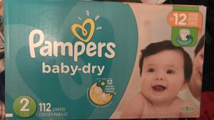 Pampers size 2 for Sale in Philadelphia, PA