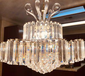 Crystal chandelier light for Sale in Las Vegas, NV