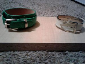 Two buckle braclets. for Sale in NC, US