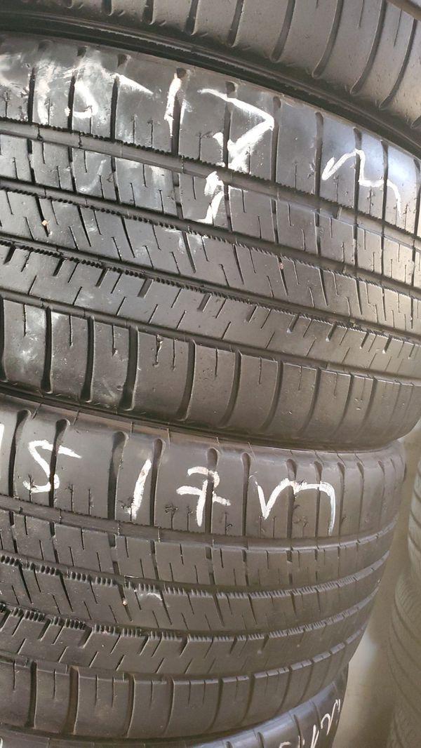(2)225/45/17 Michelin Tire Pair