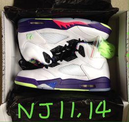 Nike Air Jordan 5 Retro Alternate Bel Air Size Sz Men's 11 14 ⭐️ DS New Box Receipt for Sale in Cherry Hill,  NJ