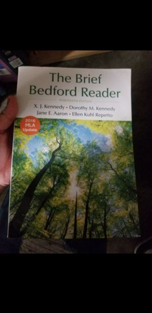 The Brief Bedford Reader for Sale in Commerce, CA