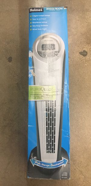 Holmes Whole Room Tower Fan for Sale in Fort Worth, TX