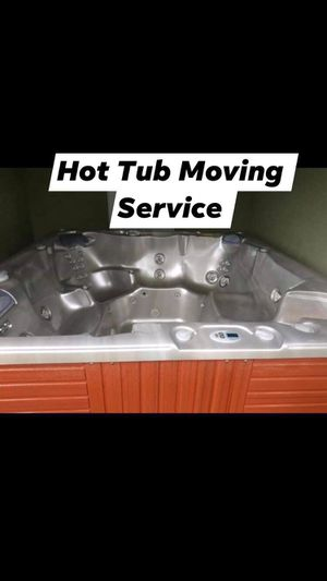 Hot Tub Spa Jacuzzi Moving Service for Sale in Hudson, FL