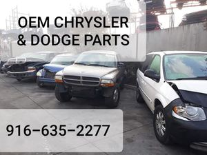 OEM CHRYSLER AND DODGE PARTS for Sale in Sacramento, CA