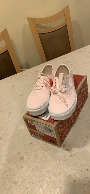 Knew pink leather vans. for Sale in San Francisco, CA
