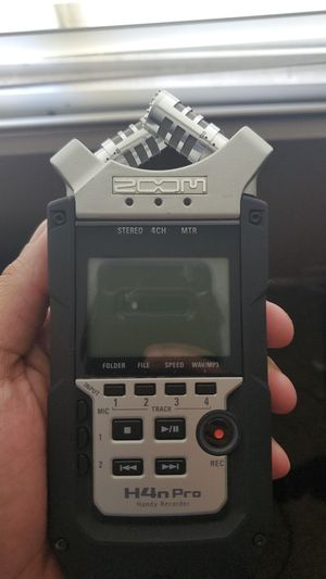 H4N Pro Audio Recorder for Sale in Tempe, AZ