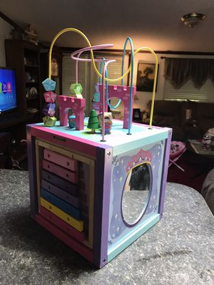 Princess activity cube for Sale in McLeansville, NC
