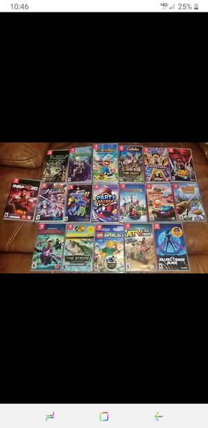 Sealed Nintendo switch games for Sale in Watkins Glen, NY