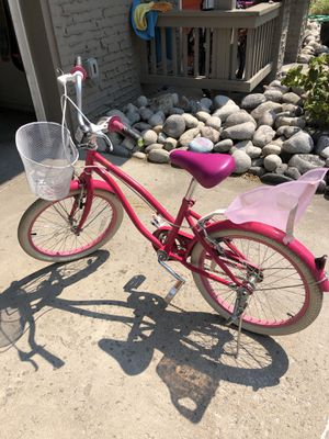 "20"" girls bike Our Generation / American Girl with doll seat for Sale in Lakewood, CO"