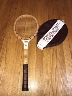 Vintage Wilson Jack Kramer Autograph Midsize Wood Tennis Racket 4 5/8 Excellent for Sale in Buckhannon,  WV