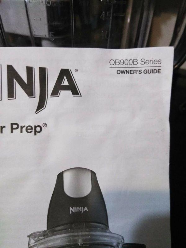 Ninja Master Prep Blender Food Processor QB1004 Pitcher 40 oz 5 cups ,Brand NEW