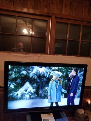 "55"" Panasonic tv pasma high dollar tv for Sale in Loganville, GA"