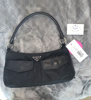 Authentic Prada Nylon Bag in Black for Sale in Montclair, CA