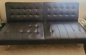 Brown/black futon for Sale in Phoenix, AZ