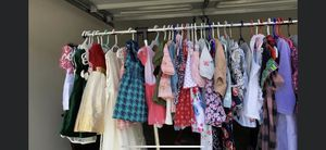 Gently worn children clothes and shoes also twin bed for Sale in Burlington, NC
