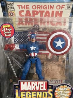 Captain America Action Figure for Sale in Annandale,  VA