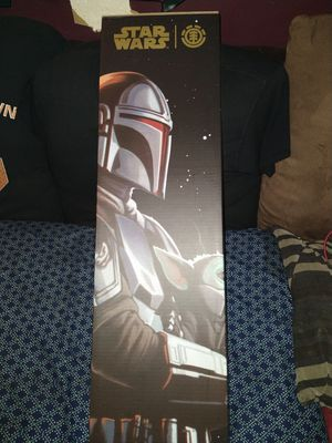 Mandalorian with baby Yoda Element Sk8board for Sale in Baltimore, MD