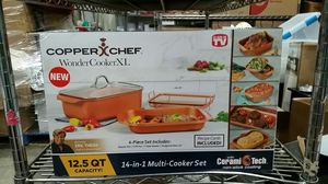 Copper Chef Wonder Cooker XL set for Sale in Los Angeles, CA