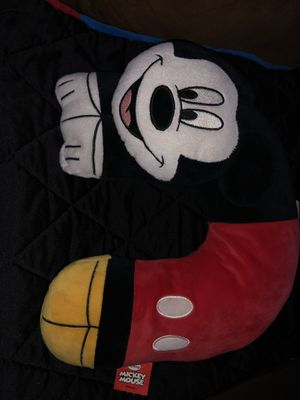 Mickey Mouse Neck Pillow for Sale in Flat Rock, MI