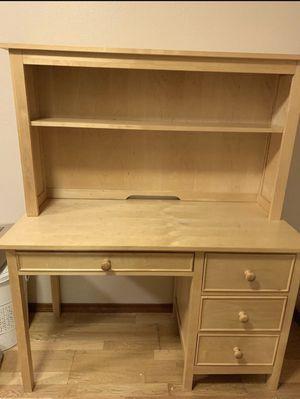 Real Wooden Desk for Sale in Spokane Valley, WA