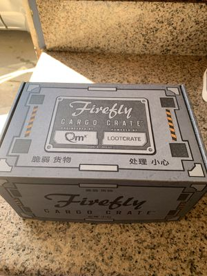 Cargo crate/loot crate firefly for Sale in Baldwin Park, CA