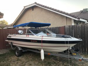 1986 bayline boat and trailer for Sale in Stockton, CA