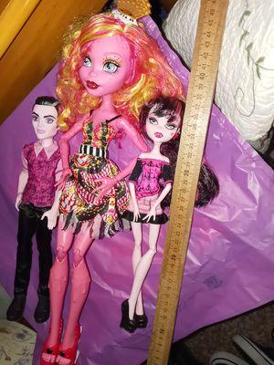 Monsterhigh dolls for Sale in Kent, WA